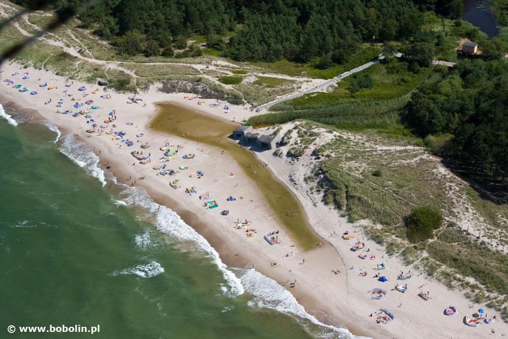 Bobolin plaża