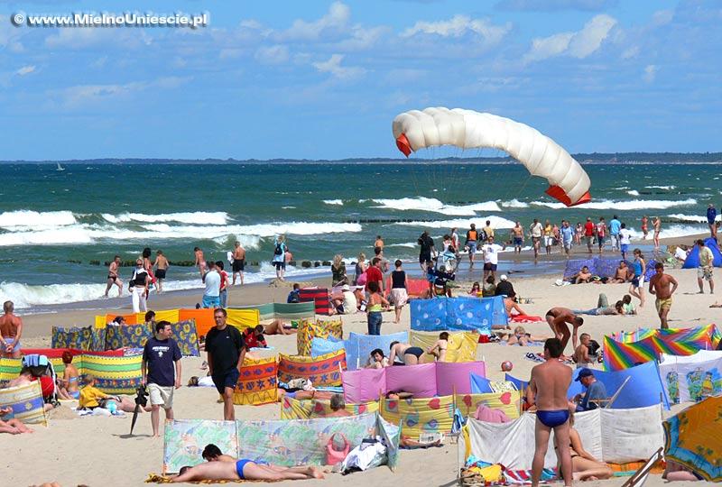 Mielno plaża